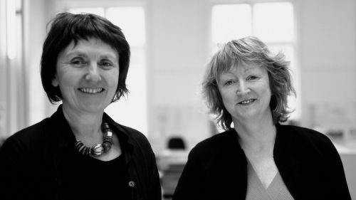 Shelley McNamara und Yvonne Farrell des Architekturbüros Grafton Architects